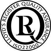 Certificado de calidad ISO22000 Mullor
