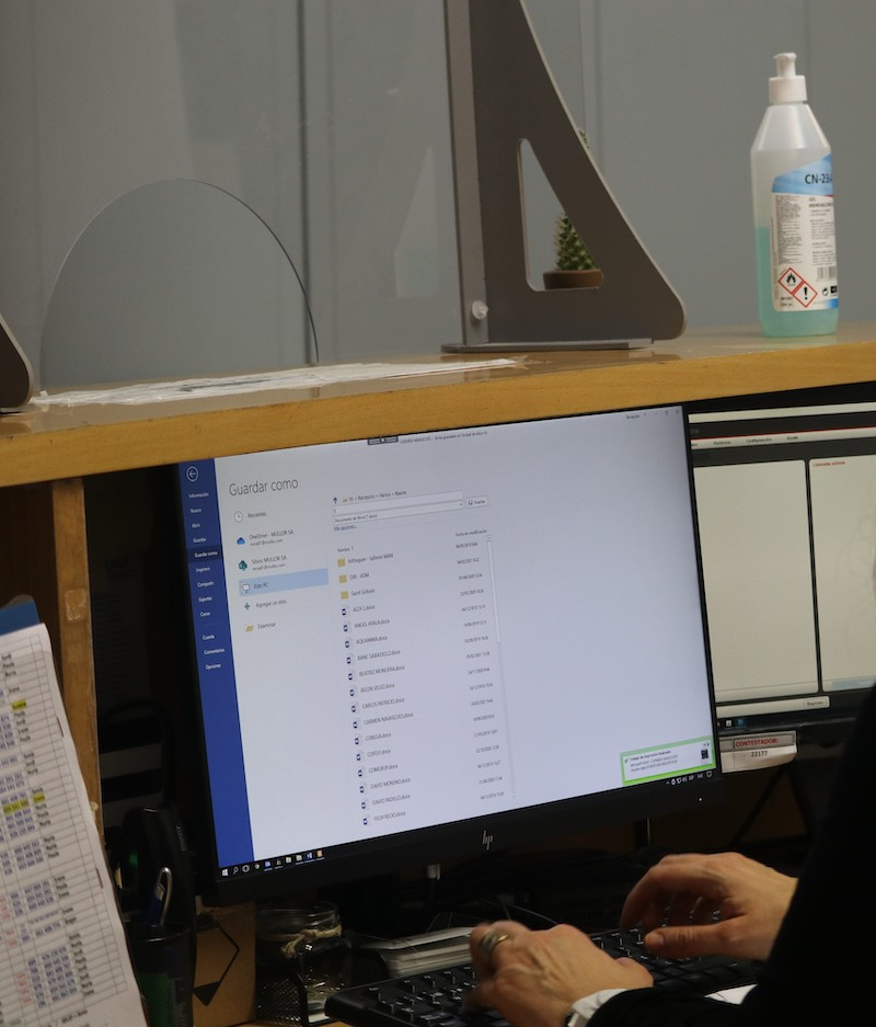 Prevención y limpieza anti Covid en oficinas