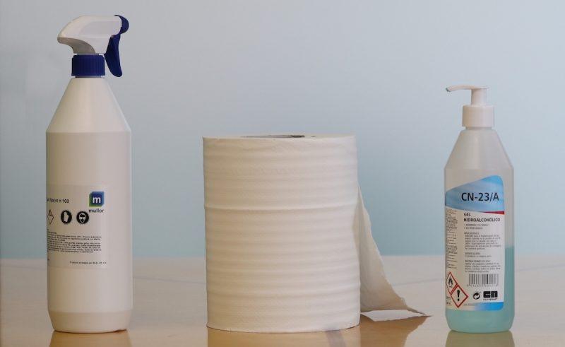 Productos de desinfección COVID19 de Mullor