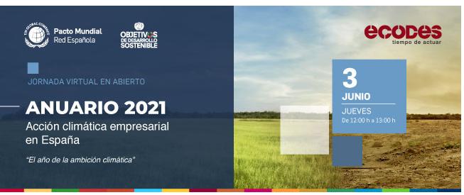 Presentación del Anuario 2021 Acción climática empresarial
